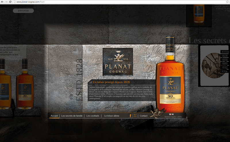 Planat cognac cmantika agence web marketing for Cognac planat