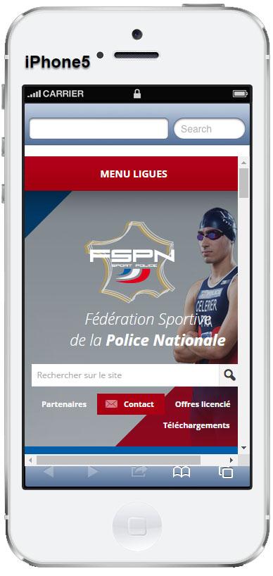 Iphone responsive FSPN