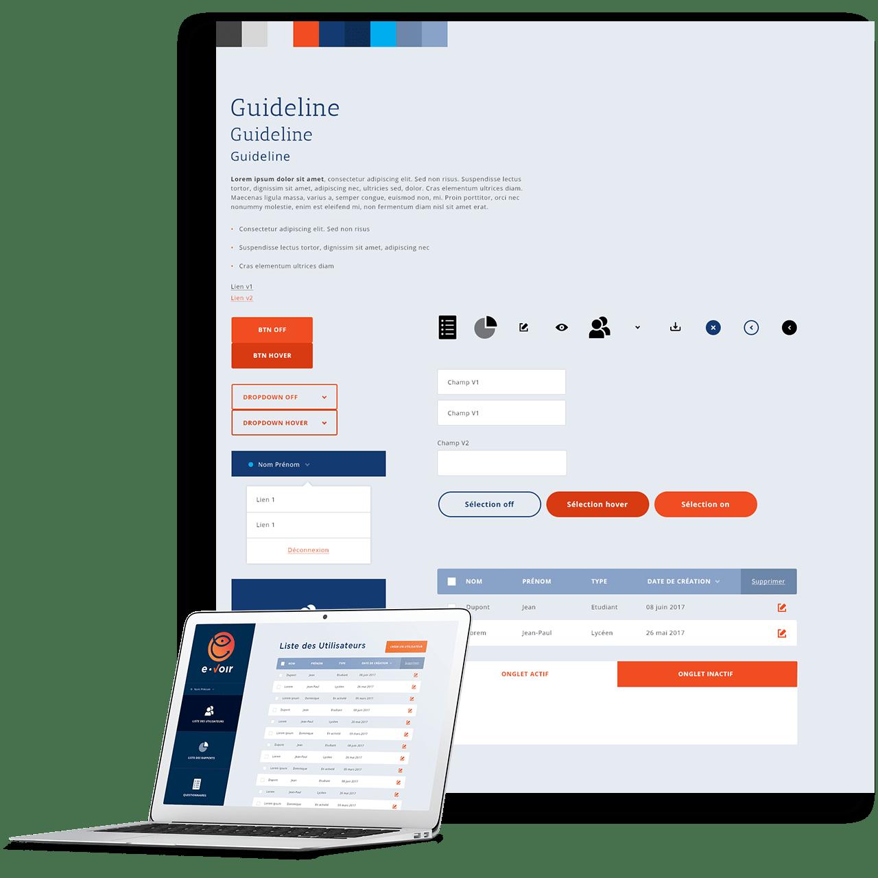 evoir site internet sur mesure pour l'association étude de cas