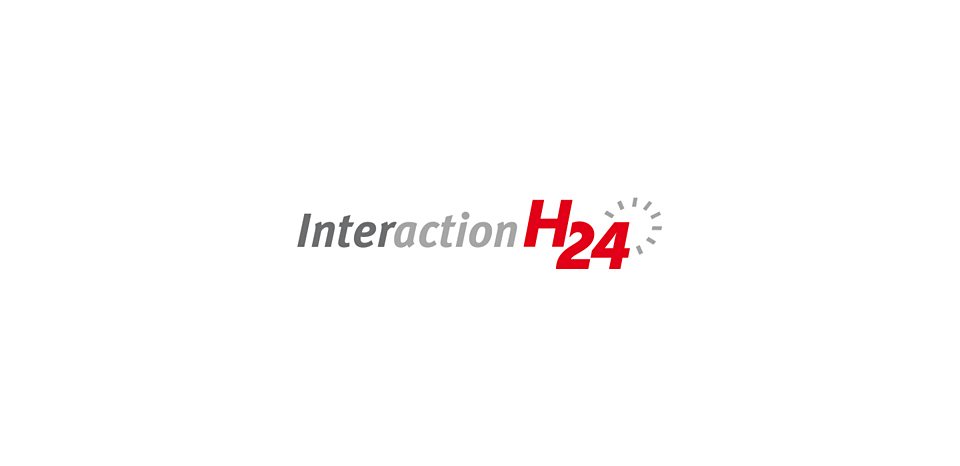 Logo de l'application web Interaction H24 à Rennes