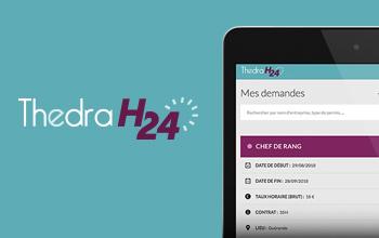Un site Internet pour Thedra H24