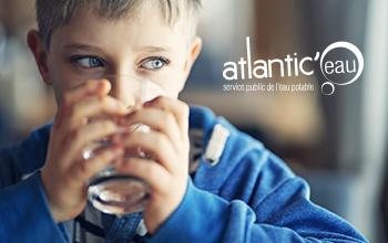 Création d'un site internet pour Atlantic'eau
