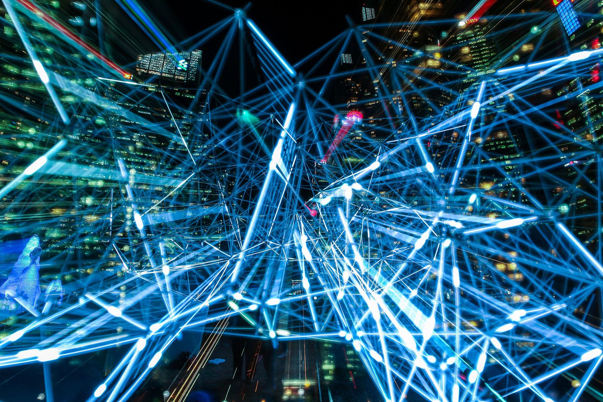 L'holographie, entre art et technologie